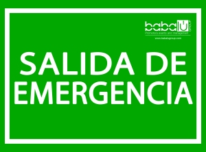 SALIDA EMERGENCIA - Paellas Alcoy
